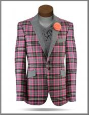 Windowpane Tweed Sport Coat