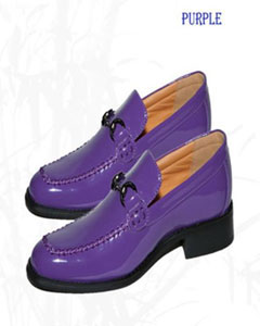 mens purple dress shoes