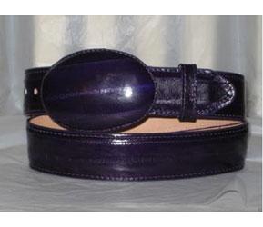 Faded Purple Eel Skin