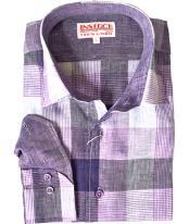 Purple Linen Online Sale