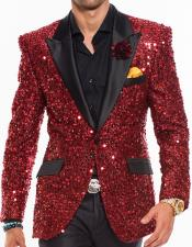 Nardoni Brand Mens Sequin
