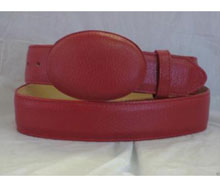 Authentic Red Deer Western Cowboy Belt