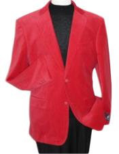 Velvet Blazer - Mens Velvet Jacket Brand new Red Velvet Cheap Priced