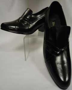Rich Black Leather Fancy