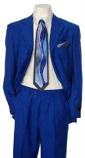 Single breasted Suit Collection Royal blue Available in 2 or Three