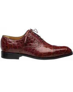 Ferrini Mens Cap Toe World Best Alligator ~ Gator Skin Belly Skin