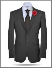 2 Button Peak Lapel Suits