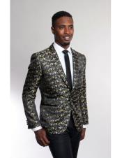 Mens Fashion Stage Blazer