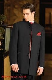 8Buttons~ Black Mandarin Tuxedo