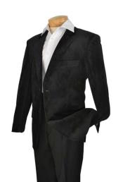 Velvet Blazer - Mens Velvet Jacket Mens High Fashion Slim Fit velvet