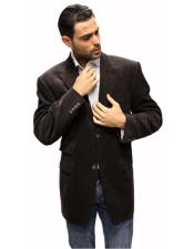 Velvet Fabric Solid Sport Coat 2 Button with Back Vent Online