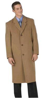 Long Wool Winter Dress Knee length Coat EMILCT03 Sentry8811 45inch  Mens