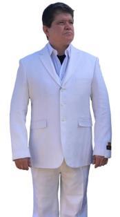 Alberto Nardoni Linen Summer Fabric Side
