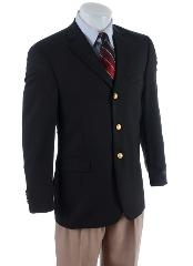 Mens Three Buttons Notch Lapel Classic Sportscoat Features 3 Buttons Cheap Priced Unique Dress Blazer For Men