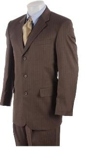 Mens 3 Button Mocha