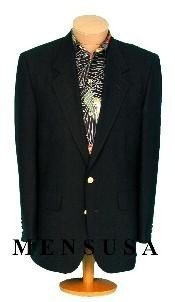 MENS 2 Button Texture Black Cheap Unique Dress Blazer For Men