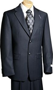 Button Black Tone/Tone Boy Designer Suit