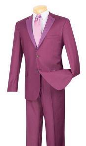 Plum ~ Burgundy Suit