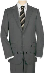 Button Medium Gray Suit