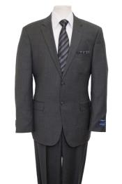 Price $795 Designer Affordable Inexpensive Authentic 100% Wool Suit 2 Button