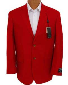 Mens Solid Red Sport Coat Jacket Cheap Priced Unique Fashion Designer Mens