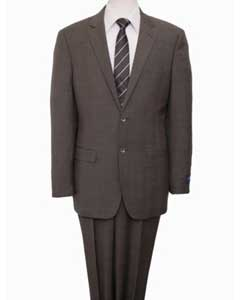 Reg Price $795 Designer Affordable Inexpensive Authentic 100% Wool Suit 2 Button
