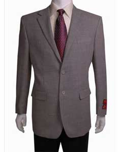 or White Birdseye Unique Dress Blazer For Men