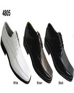 Two Tones Shoes White/Brown/Black