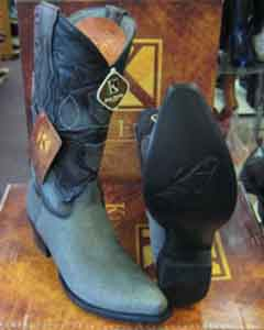 Genunie Shark King Exotic Cowboy Style By los altos botas For