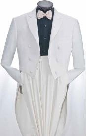 Mens White Tuxedo Suits