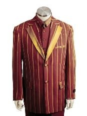 2 Button Suits Brown