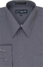 Dress Shirt Charcoal