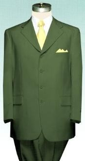 Olive Green Cheap Suit