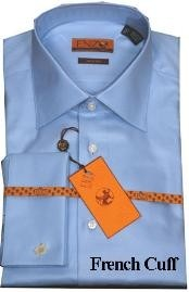 Shirt Blue Twill French