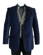 Cheap Priced Online Velvet Smoking Midnight Blue