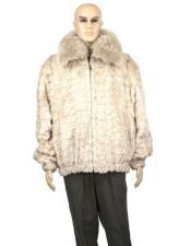 Genuine Mink Jacket With
