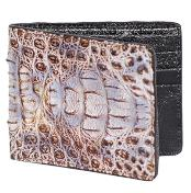 ~ billetera ~ CARTERAS Natural Genuine Crocodile Card Holder Wallet