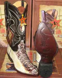 Altos Natural Genuine Crocodile ~ World Best Alligator ~ Gator Skin Western Cowboy Boot