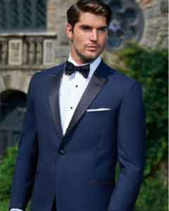 Evening Peak Dark Navy 1-Button Tuxedo