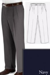 and Tall Dress Pants Slacks For Men Navy unhemmed unfinished bottom