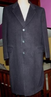 Coat Long Wool Winter