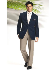 Navy Blue Suit For