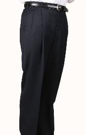 Parker Pleated Pants Lined Trousers unhemmed unfinished bottom