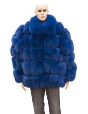 Fur Navy Blue Full