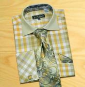 Check Design Shirt /