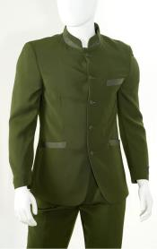 St Angelo Olive Green