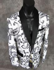 fancy paisley sequin jacket