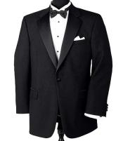 Button Notch Tuxedo Super 150s Wool Jacket + Pants