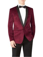 and Burgundy Slim Fit Wine ~ Maroon Suit For Mens