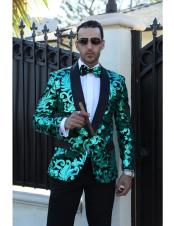 Brand Fashion Mens sequin